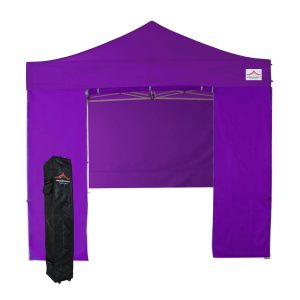8x8 purple pop up canopy tent